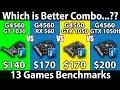 GT 1030 vs GTX 1050 vs GTX 1050 Ti vs RX 560   Pentium G4560   Gaming Benchmarks