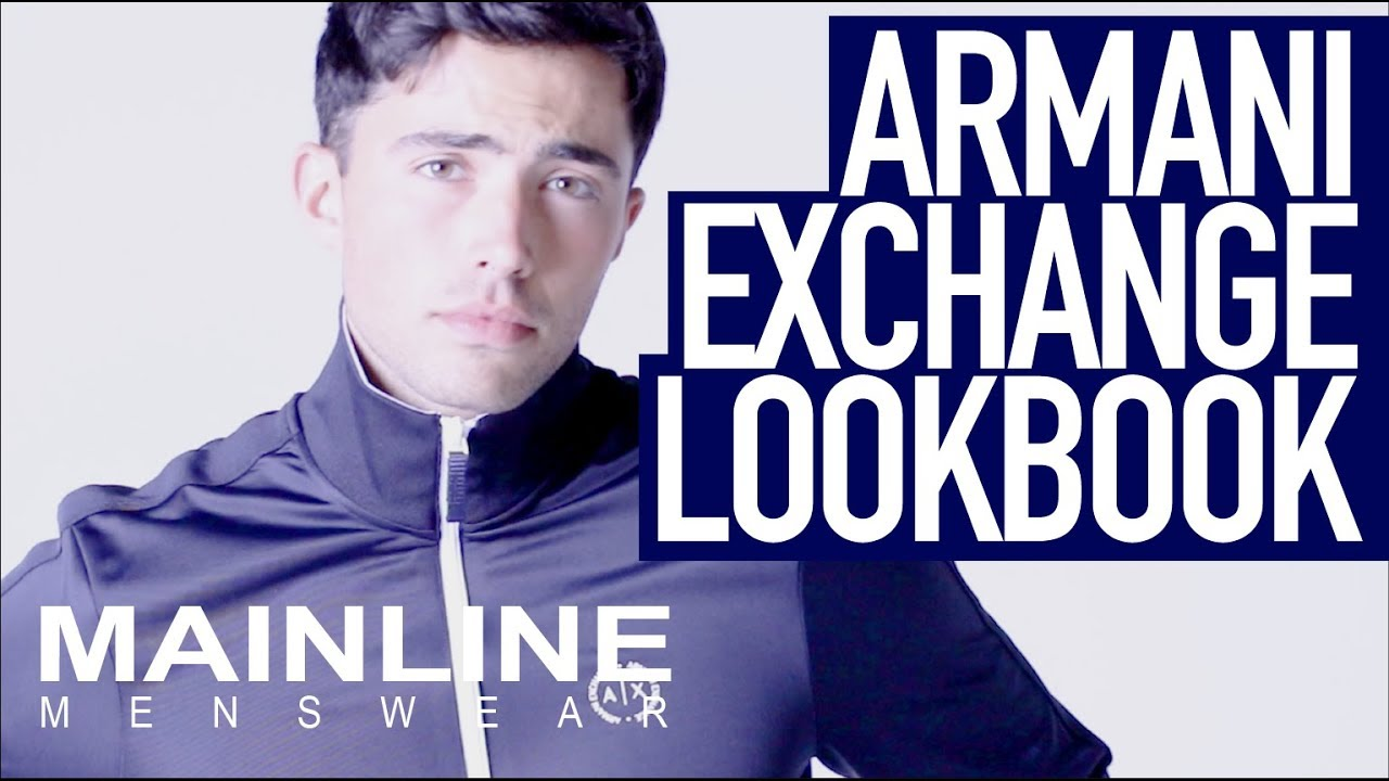 9c0670957a6 Get the look with Armani Exchange
