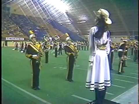 Tuscola High School Marching band 1983 - Prelims