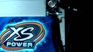 xs power battery d3400r installed