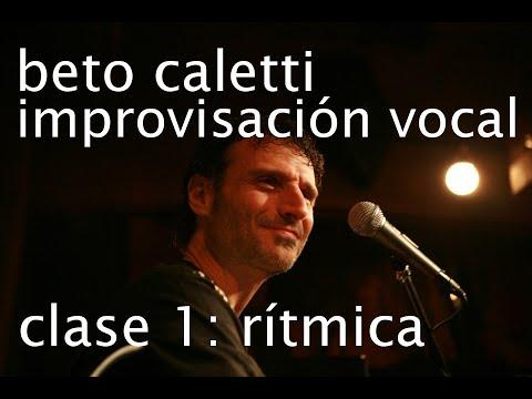 Beto Caletti, improvisación