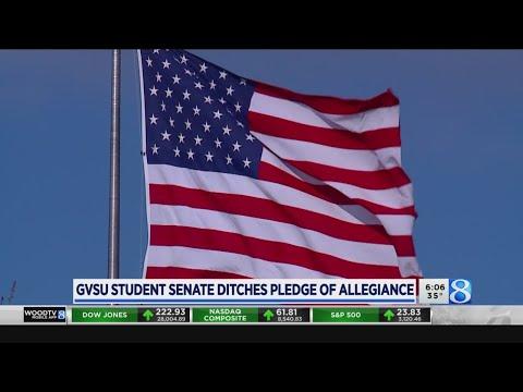 GVSU Student Senate Ditches Pledge Of Allegiance