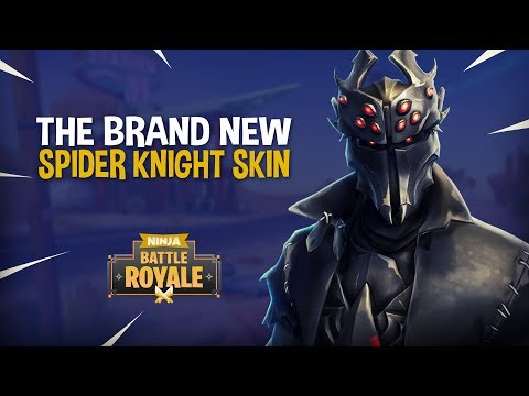 *NEW* Spider Knight Skin!! - Fortnite Battle Royale Gameplay - Ninja