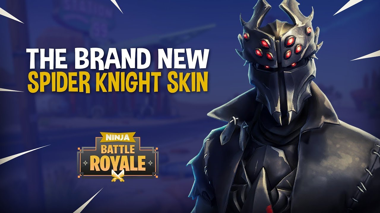 New Spider Knight Skin Fortnite Battle Royale Gameplay Ninja