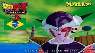 (PT-BR) Frieza VS Guerreiros Z Dublado - Dragon Ball Z Budokai Tenkaichi 3 Brasil