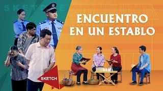 Sketch cristiano | Encuentro en un establo (Español Latino)