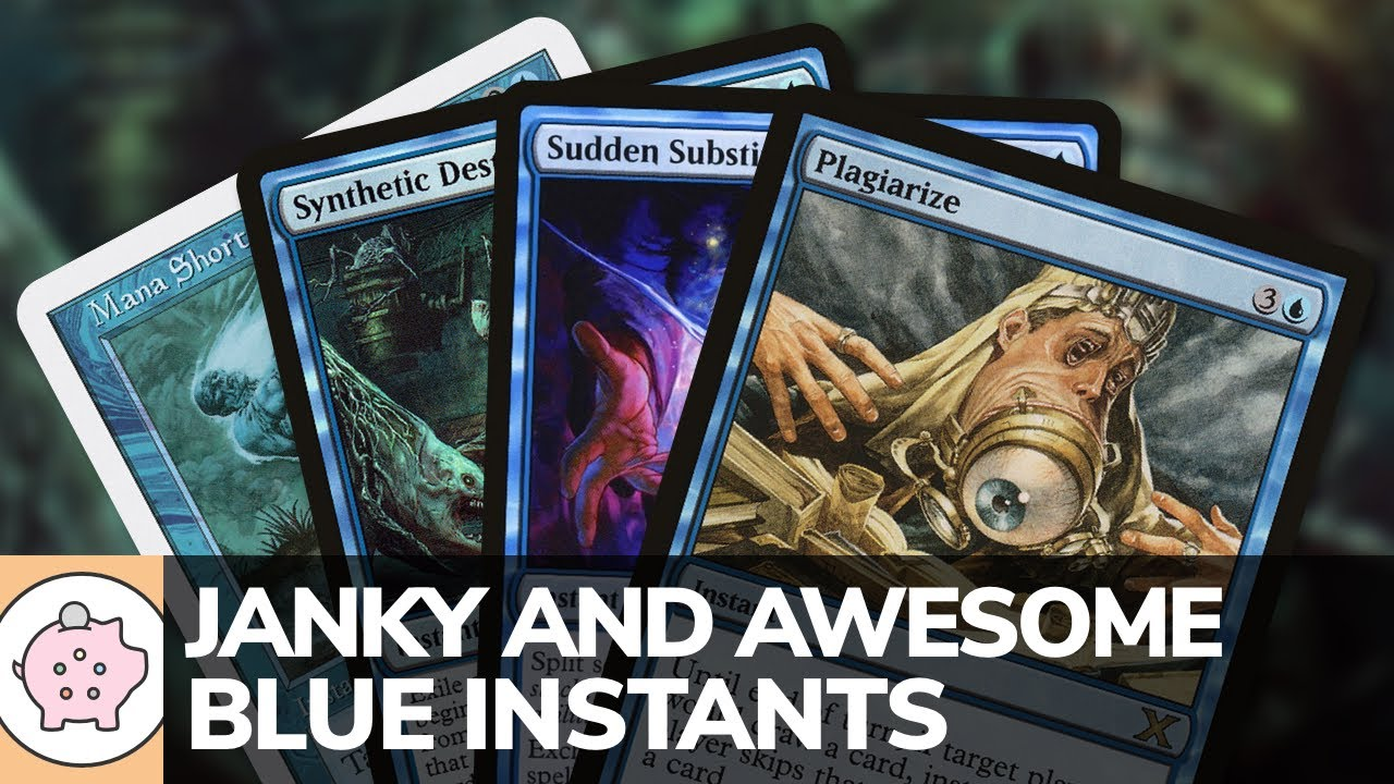 Janky and Awesome Blue Instants   EDH   Underrated   Magic the Gathering   Commander