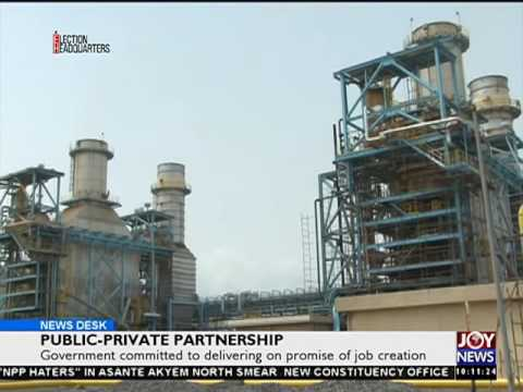 Public - Private Partnership - News Desk on Joy News (18-7-16)