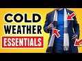 8 Winter Wardrobe Essentials EVERY Man Should Own! RMRS Cold Weather Style Videos