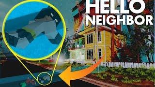 Minecraft: Hello Neighbor -  Secret Underground Basment Entrance