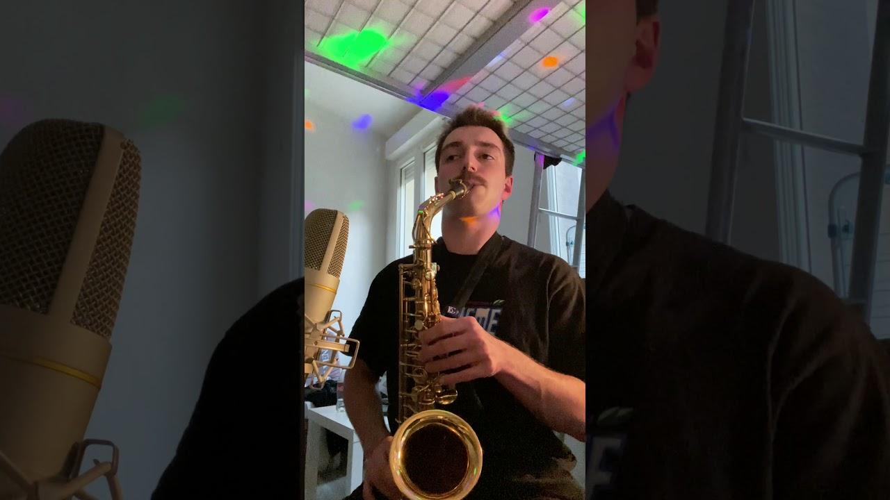 Download Wejdene - Réfléchir (Cover Saxophone)