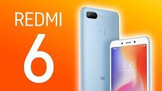 NUEVO Xiaomi REDMI 6, LÍDER en móviles BARATOS!