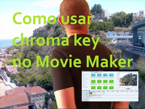 efeito chroma key windows 7 movie maker