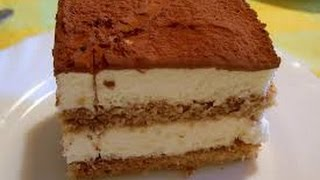 Receta: Tiramisu Casero muy facil - Silvana Cocina 💖