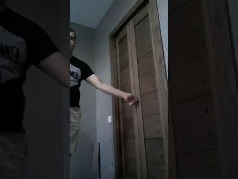 Дверь-книжка. Массив дуба. 1