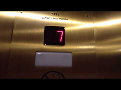 OTIS Elevator at the Amway Grand Plaza Hotel in Grand Rapids, MI
