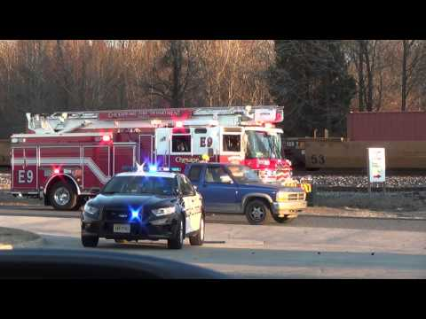 Norfolk Southern Train 234 hits car at private crossing