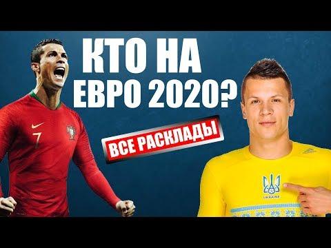 Отбор Евро 2020: таблицы, расписание, расклады перед осенними матчами