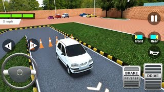 Indian Driving Test Game - Car Parking Simulator - Android Gameplay FHD