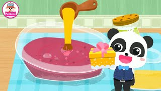 Cửa Hàng Hoa Của Bé Gấu Trúc - Làm Bánh Quy Từ Hoa Hồng