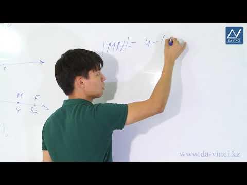 Геометрия 7 класс мерзляк координатная прямая видеоурок