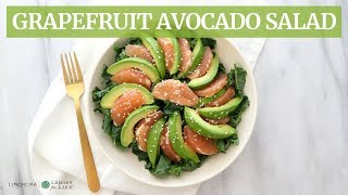 Ruby Red Grapefruit Avocado Salad | Quick, Healthy Recipe | Limoneira