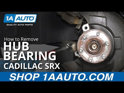 How to Replace Wheel Bearing & Hub 10-16 Cadillac SRX