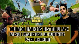 Fortnite hackers distributes fake and malicious APK from Fortnite for Android-Fortnite
