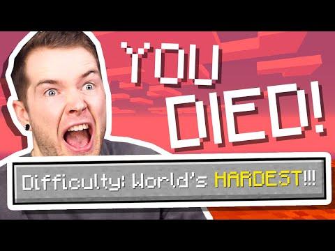 I Played The WORLD'S HARDEST Minecraft Modpack..