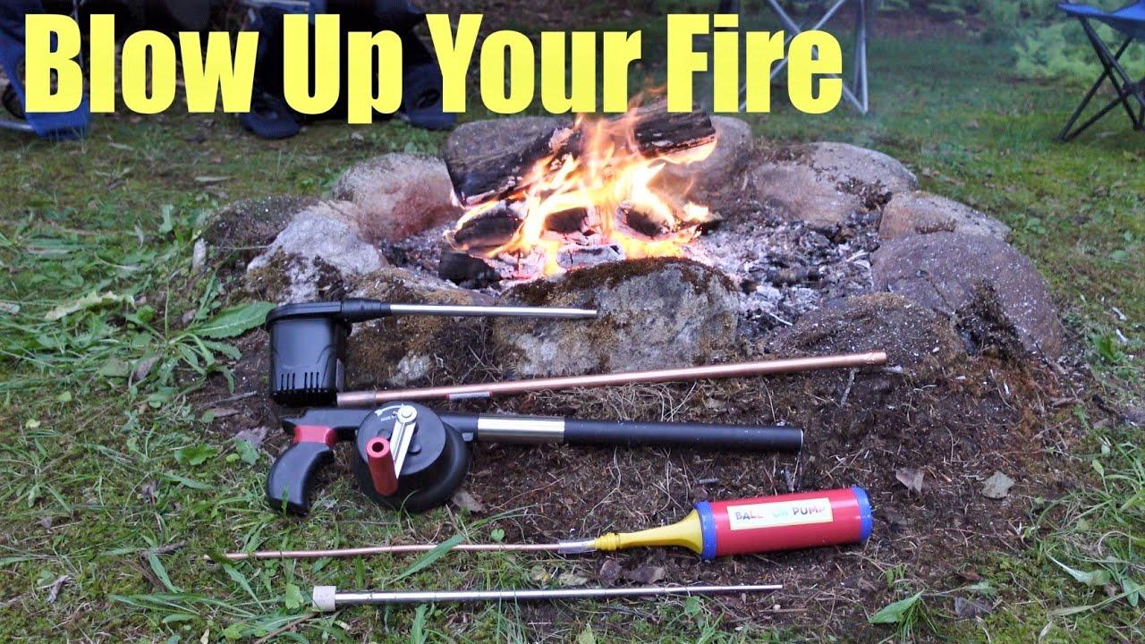 5 DIY Fire Stick, Fire Bellow Designs - Tutorial