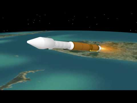 Atlas V NROL-61 Mission Profile