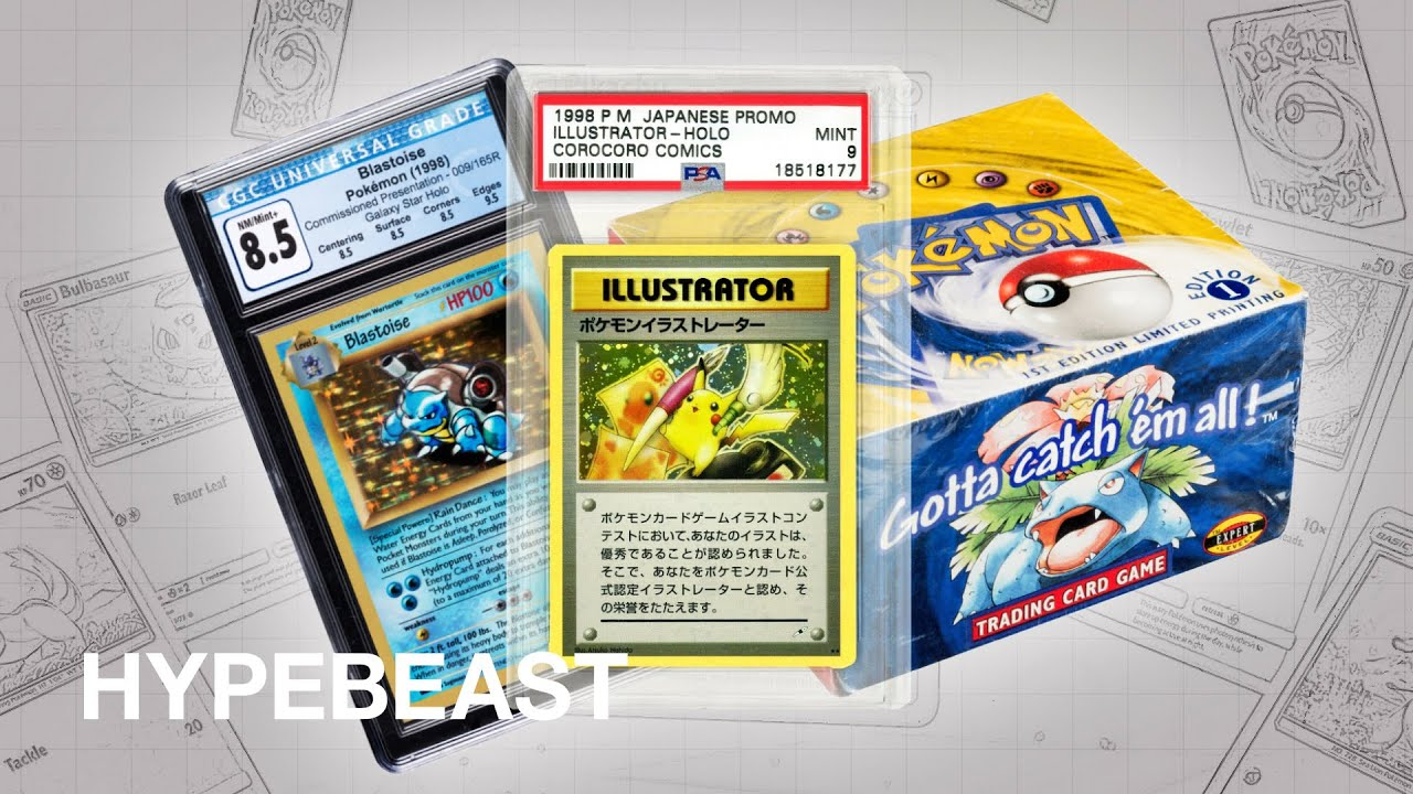 Why Your Pikachu and Charizard Cards Are Worth More Than $ Million |  Behind HYPE: Pokémon TCG – HYPEBEAST
