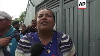 Second migrant caravan arrives in Mexican capital
