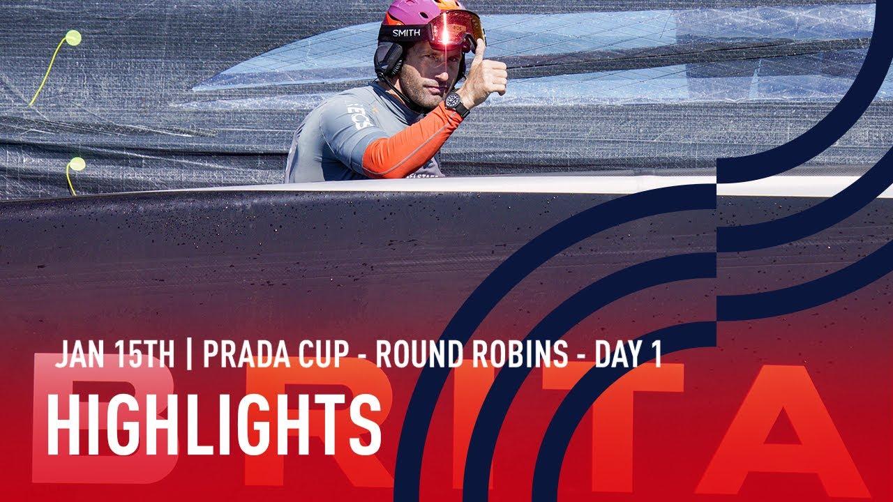 PRADA Cup Day 1 Highlights
