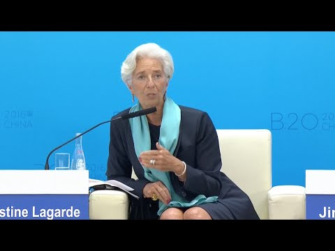 Lagarde Calls for Measures to Stimulate Economic Growth