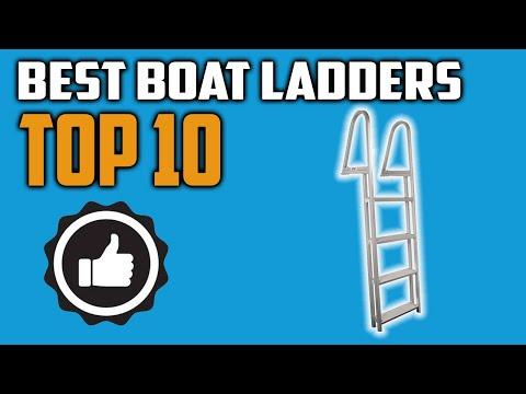 Best Boat Ladder 2020 - Top 10 Boat Ladders