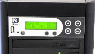 Duplicate your DVDs with 1:7 DVD / CD / Blu-ray Duplicator from U-Reach