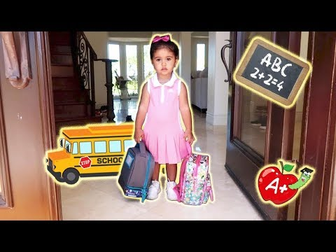 ELLE'S FIRST DAY OF SCHOOL!!! (THE CUTEST BABY STUDENT) thumbnail
