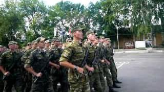 Курск Сборы РХБЗ 2007 Присяга Песня
