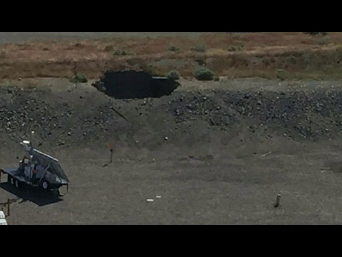 A Closer Look at Size and Location of Hanford Tunnel Collapse
