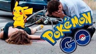 Mira estos 7 Accidentes causados por jugar Pokémon Go Increible!