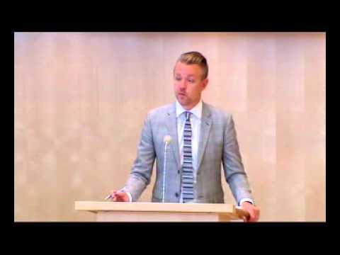 Fredrick Federley (C) argumenterar mot förhöjt straff för sexköp 1av2