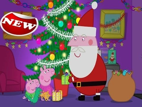Peppa Pig English Episodes New Christmas Compilation 2015 Non Stop