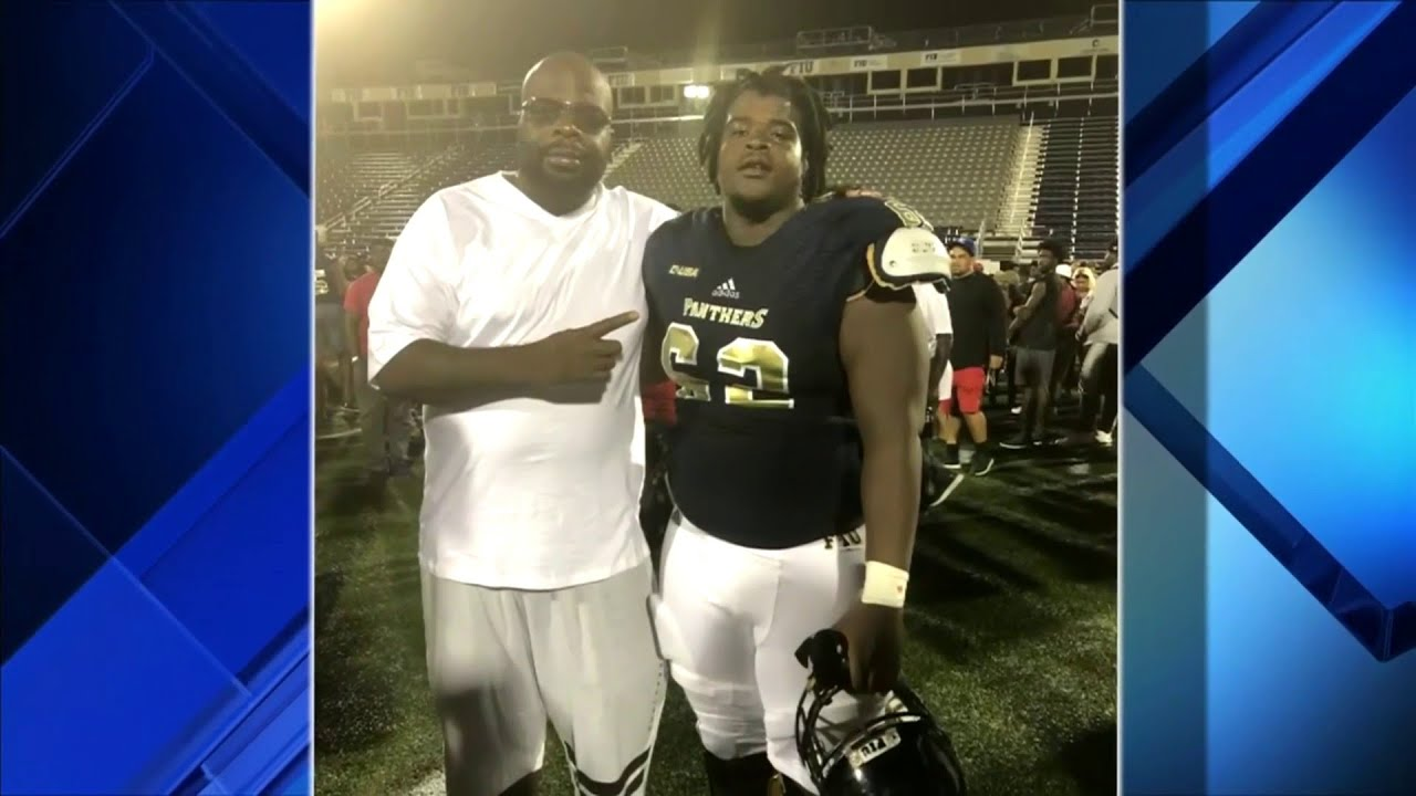 FIU football player's father grateful son is alive after drive-by shooting