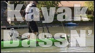 Kayak Bass Fishing!