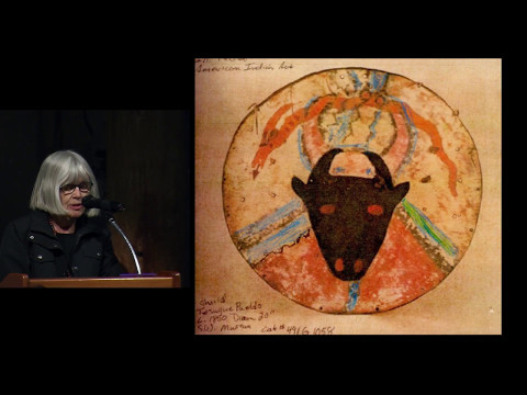 Rock Art and Pueblo Shields: Symbolism and Change, a public talk by Polly Schaafsma