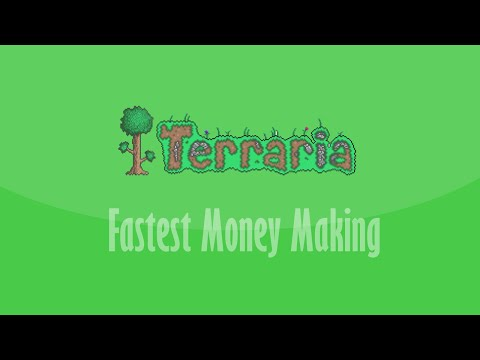 Terraria Fastest Money Making (No Goldfish Statues Or Bunny) *PATCHED*