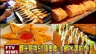 推台灣小吃 票選十大夜市美食-民視新聞
