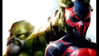 Spider-Man 2099 vs. Maestro Hulk (Part 1 of 2)