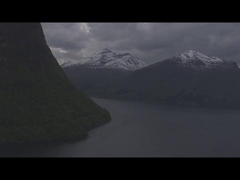 Lillefjellet, Nesaksla, Åndalsnes, Romsdalsfjorden, Voll - Flying Over Norway